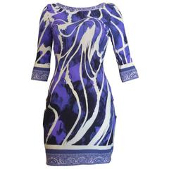 Roberto Cavalli Dress with Deep V-Back Dress 42 (Itl)