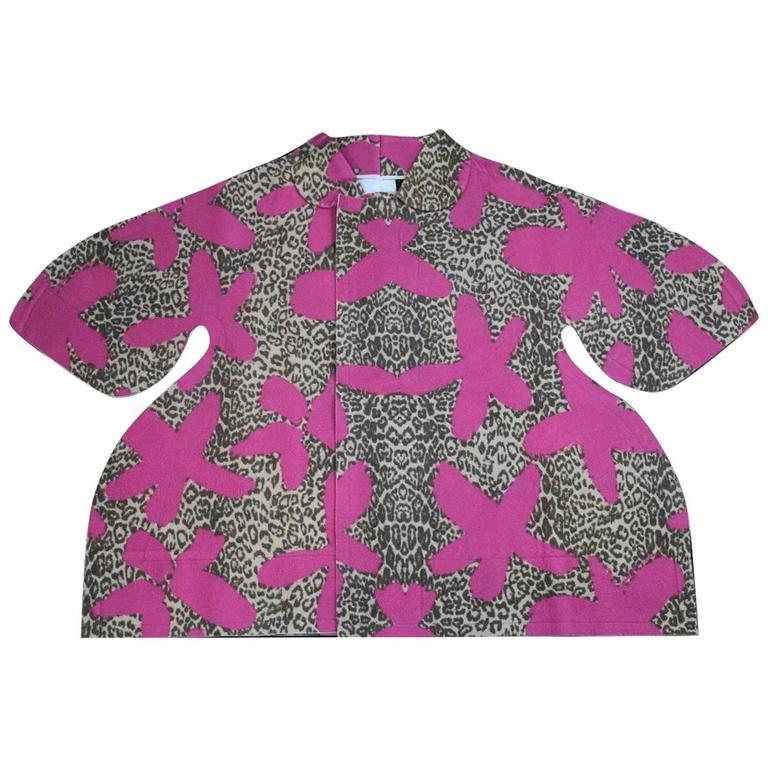 Comme des Garcons 2012 Collection Flat Pack Felt Coat