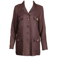 Yves Saint Laurent Vintage Safari Jacket