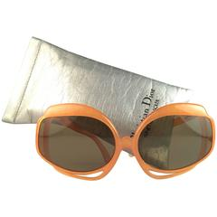 New Vintage Christian Dior 2026 30 Jasped Orange Optyl Sunglasses