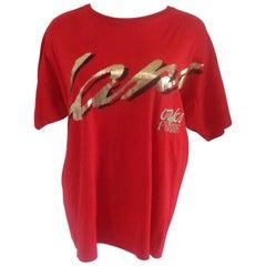 Gianfranco Ferre Oaks Red Cotton Shirt