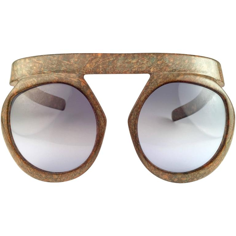 New Vintage Christian Dior 2030 80 Jasper Camouflage Collector Optyl Sunglasses  1