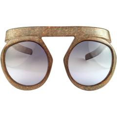 New Vintage Christian Dior 2030 80 Jasper Camouflage Collector Optyl Sunglasses