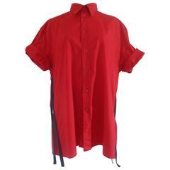 Moschino Red Cotton shirt