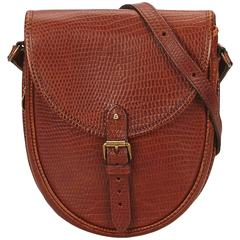 Mulberry Red Leather Shoulder Bag