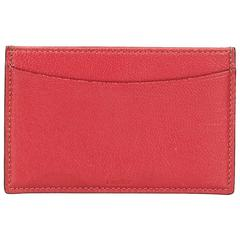 Cartier Pink Leather Card Holder