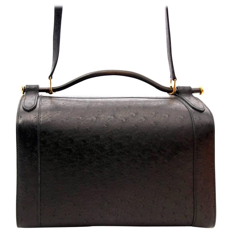 Very Rare Hermes Sac Mallette Handbag