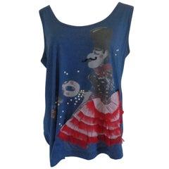 Moschino Blu Dancers Shirt