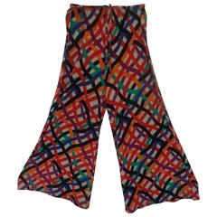 Missoni Mare Beachwear Multicolour Pants