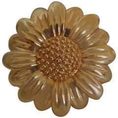Vintage flower daisy Brooch - pin