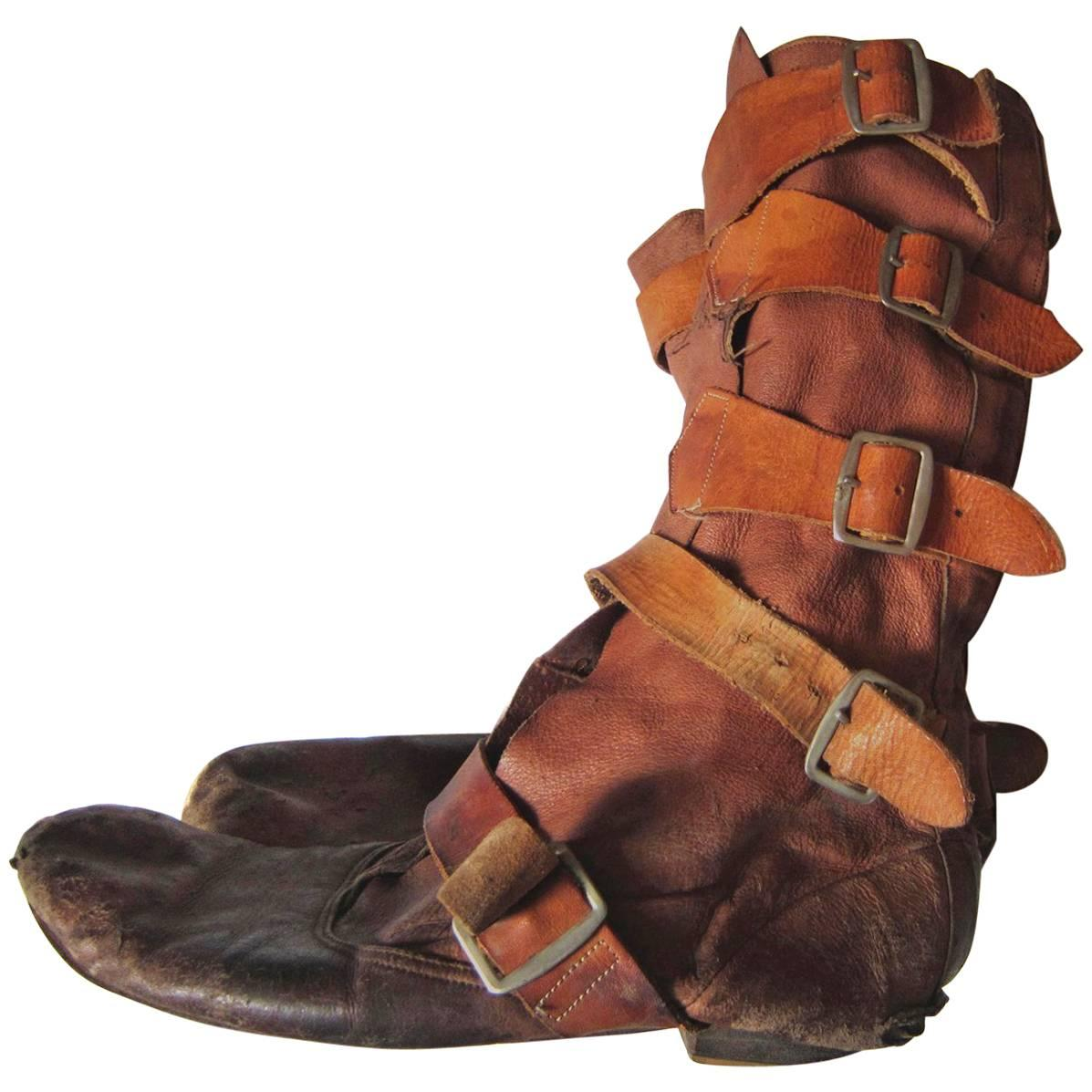 Worlds End Strap Boots Vivienne Westwood / Malcolm Mclaren 1982-1983