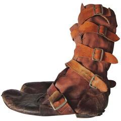 Worldsend Strap Boots Westwood Mclaren 1982-1983
