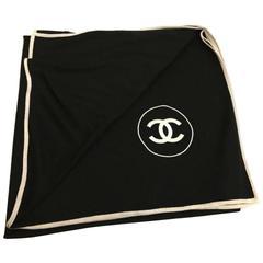 Chanel oversized stole cashmere