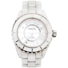 Chanel J12 H2423 White Ceramic Watch