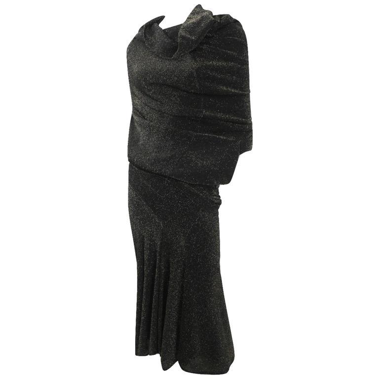 Junya Watanabe 2008 Collection Lurex Top and Skirt