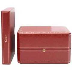 Cartier Red Watch Box/Case