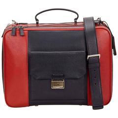 Miu Miu Red Leather Briefcase