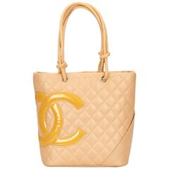 Chanel Yellow Cambon Ligne Bucket