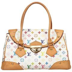Louis Vuitton White Multicolore Beverly GM