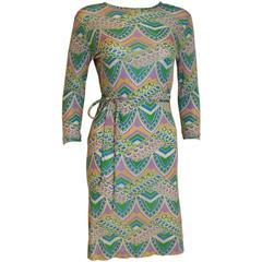 1960/70s Silk Jersey Dress