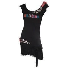 John Galliano Little Black Dress