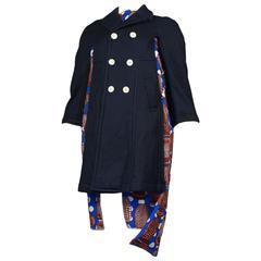 Comme des Garcons African Print Coat SS 2008