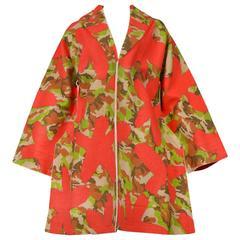 Comme des Garcons 2D Flat Camo Coat AW 2012