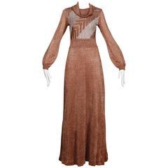 1970s Wenjilli Vintage Dress