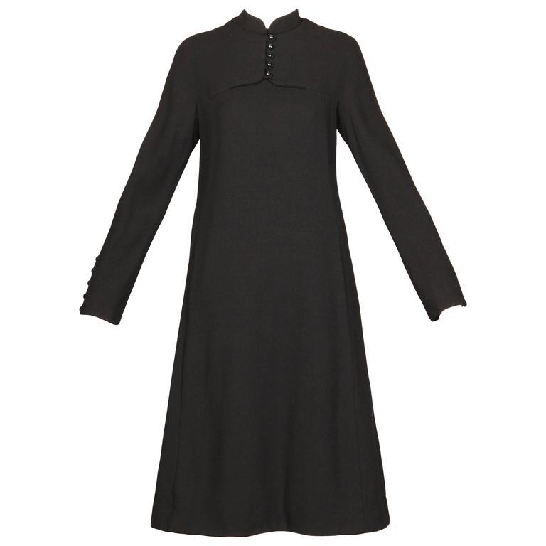 1960s Geoffrey Beene Vintage Dress