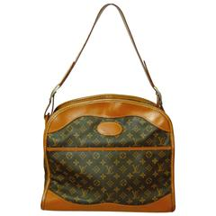 Louis Vuitton The French Company Carry On Travel Bag Monogram Canvas 1970s