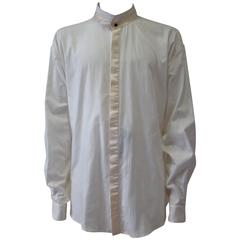 Istante By Gianni Versace Tuxedo Evening Shirt