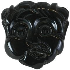 Black Americana Themed Bakelite Figural Brooch