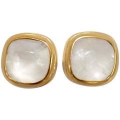 Goossens Paris Rock Crystal Baguette Earrings