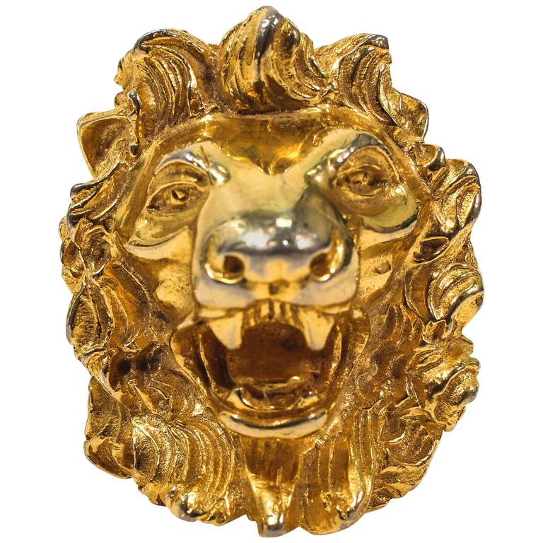 Judith leiber vintage lions head brooch pendant gold tone for sale judith leiber vintage lions head brooch pendant gold tone for sale aloadofball Choice Image
