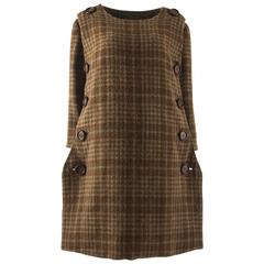 Jeanne Lanvin 1940s haute couture tweed jacket and skirt ensemble