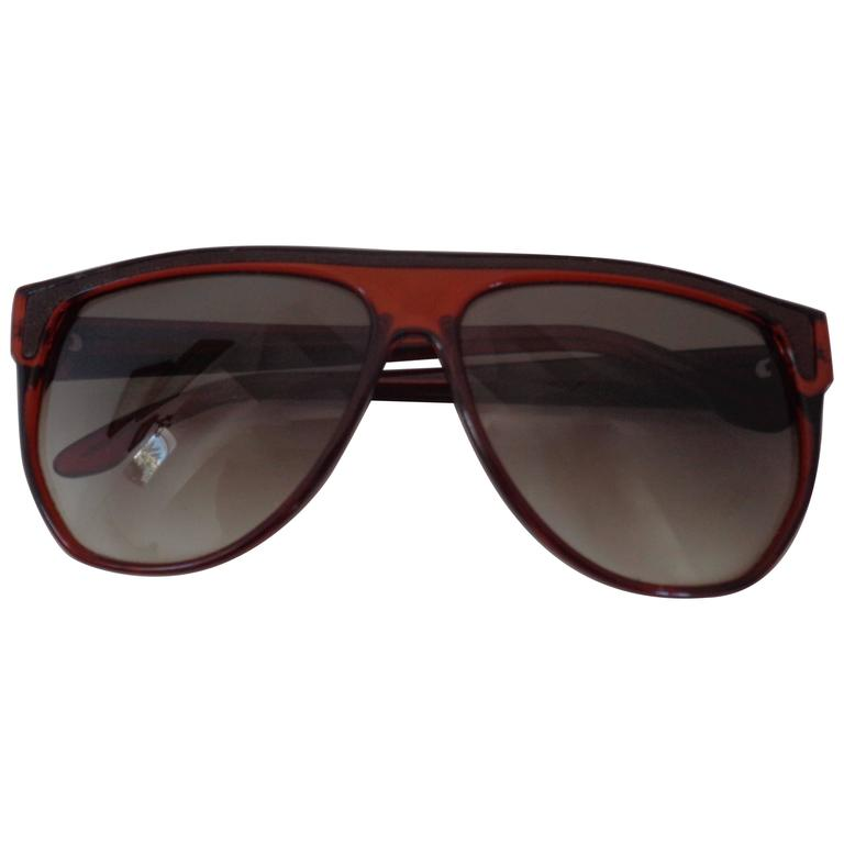 Trussardi Brown Sunglasses