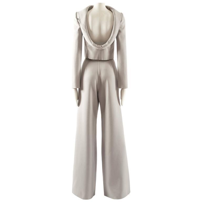 Ocimar Versolato Autumn-Winter 1998 haute couture evening pant suit 1