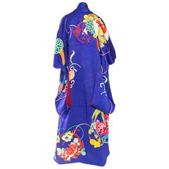 Beautiful Hand-painted and Embroidered Japanese Kimono
