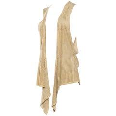 Vintage Gucci Suede Vest
