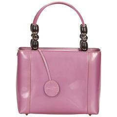 Dior Pink Leather Handbag