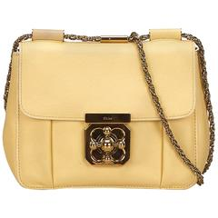 Chloe Yellow Leather Elsie