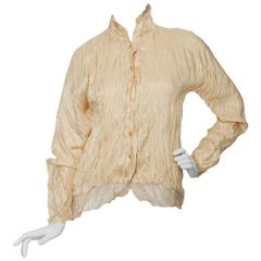 A 1980s Pleats Please by Issey Miyake Blouse