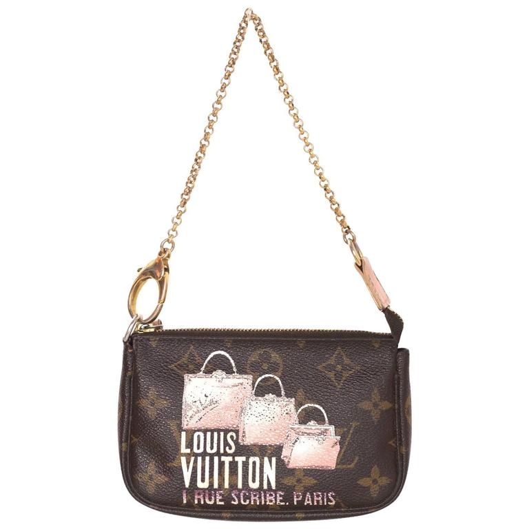 Louis Vuitton Limited Edition Monogram Rue Scribe Paris ...