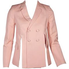Pink Ports 1961 Double-Breasted Slit Jacket