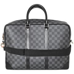 Louis Vuitton Damier Graphite Porte-Documents Voyage GM Computer Bag