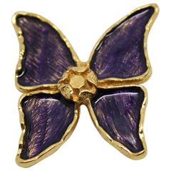 Yves Saint Laurent vintage Brooche Butterfly style