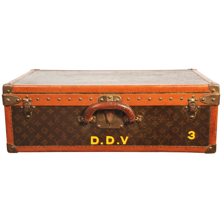 Louis Vuitton Suitcase Owned by Diana Vreeland Iconic Piece of Fashion History