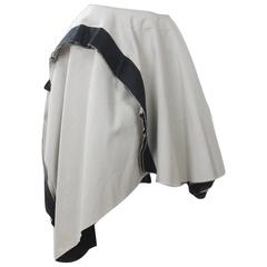 Comme des Garcons 2003 Collection Circular Panel Skirt