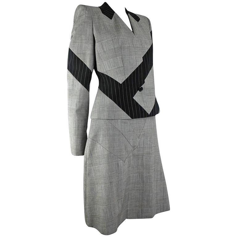 Alexander McQueen 1998 Collection Skirt Suit