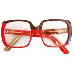 1980s Yves Saint Laurent Oversized Glasses
